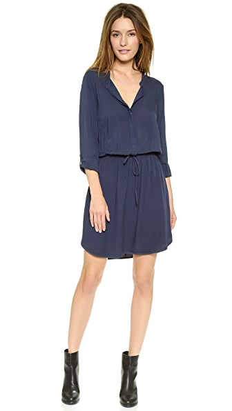 Splendid Drawstring Shirtdress