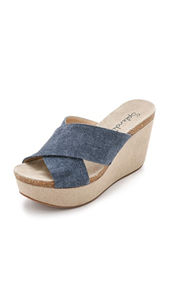 Splendid Grand Suede Wedges