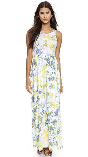 Splendid Waterville Floral Maxi Dress