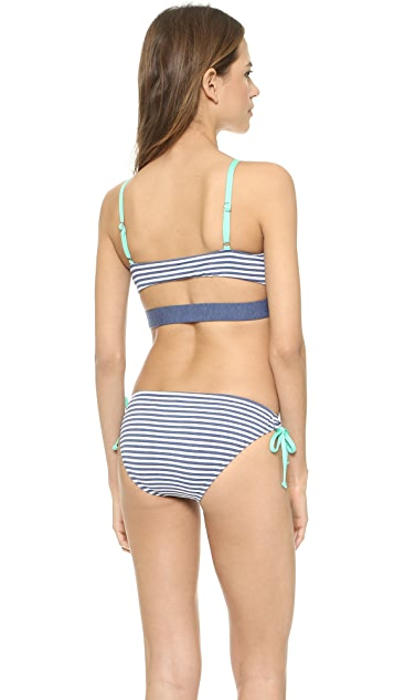 Splendid The Blues Too Bikini Top