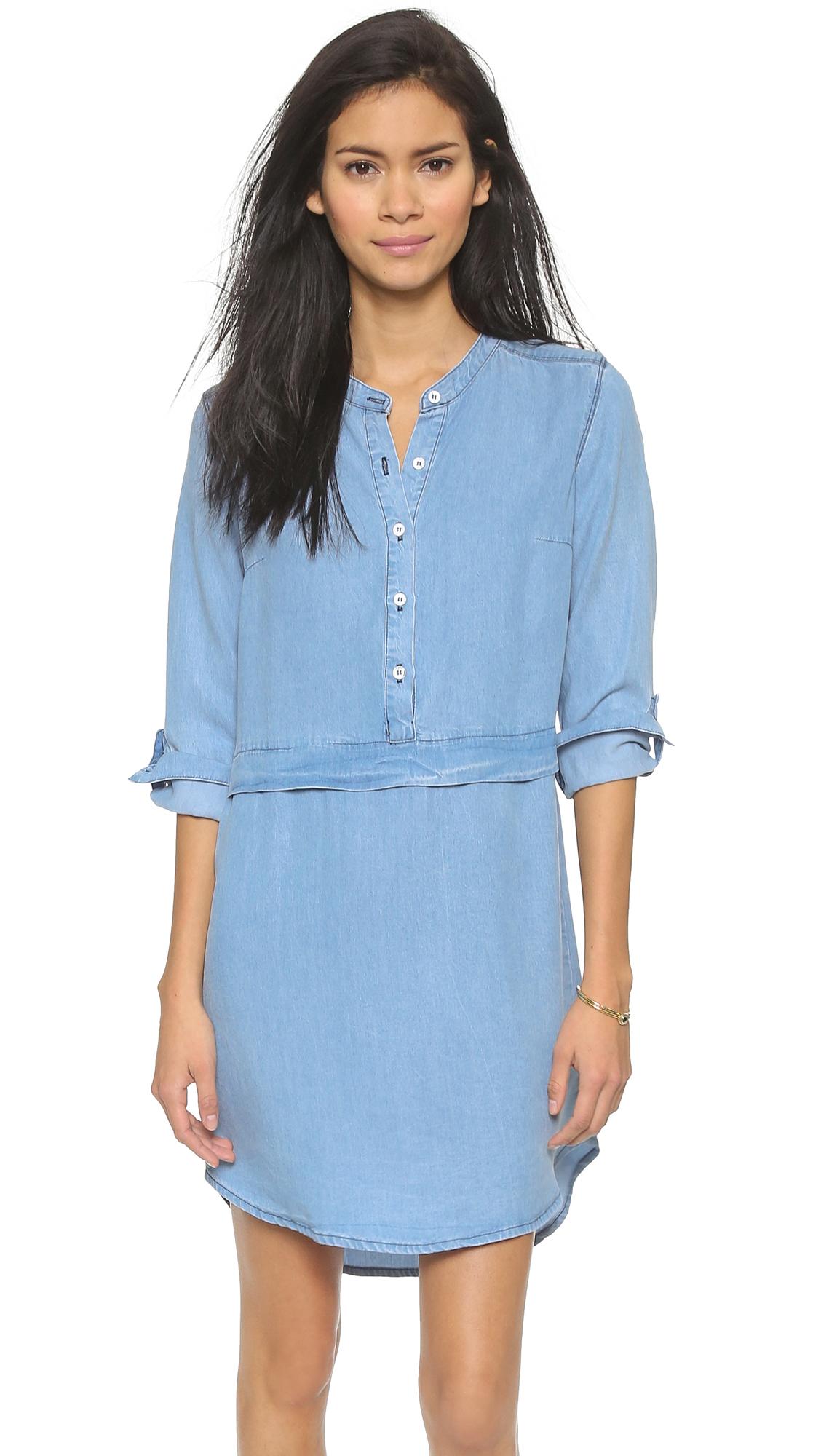 ad40c4d141 Splendid Chambray Shirtdress