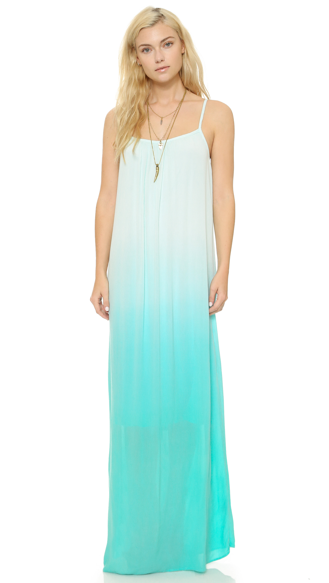 Splendid Gauzy Ombre Maxi Dress | SHOPBOP