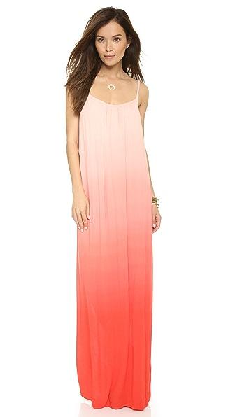 Splendid Gauzy Ombre Maxi Dress