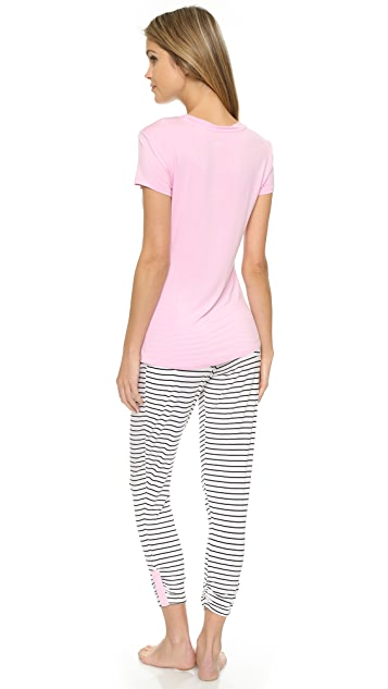 Splendid Stripe PJ Set