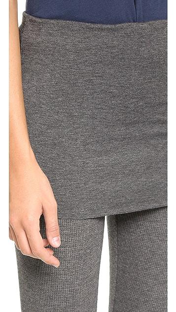 Splendid Thermal Fold Over Leggings