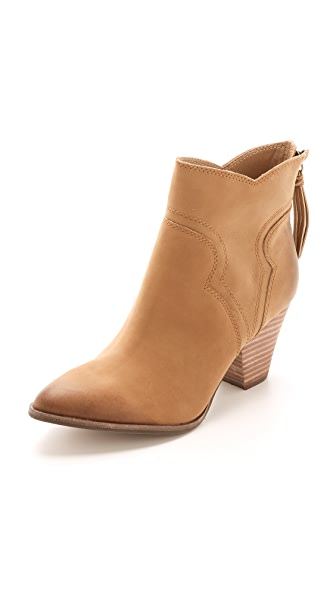 Splendid Asher Booties - Maple