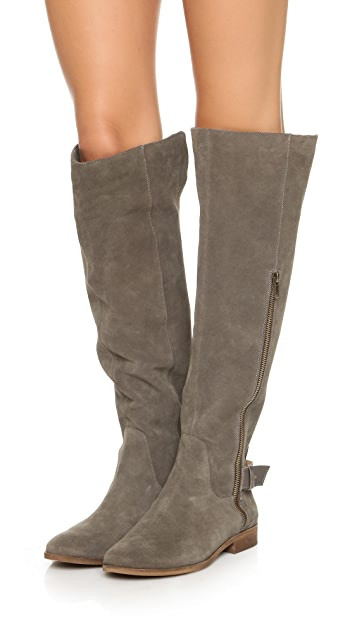 Splendid Polly Over the Knee Boots