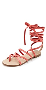 Carly Lace Up Sandals                Splendid