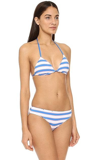 Splendid Reversible Soft Cup Triangle Bikini Top