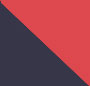 Fiery Red/Navy
