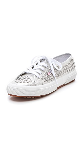Superga Studded Sneakers