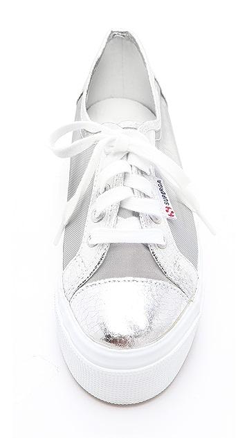 Superga Platform Net Sneakers