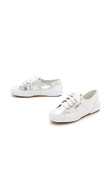Superga Cotu Metallic Sneakers