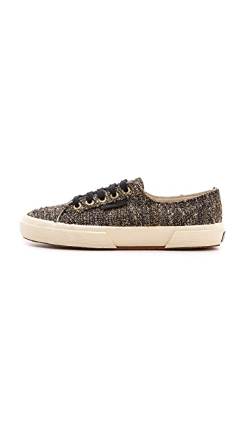 Superga The Man Repeller X Superga Tweed Classic Sneakers