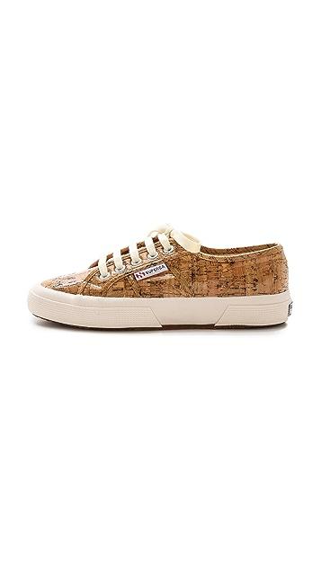 Superga Cork Sneakers