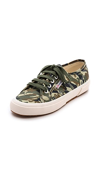 Superga Camo Cotu Sneakers
