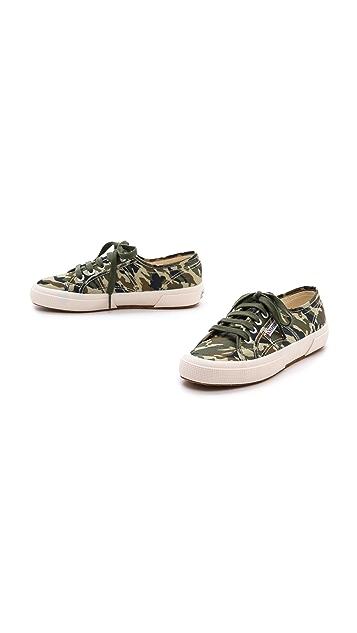 Superga Camo Cotu Sneakers