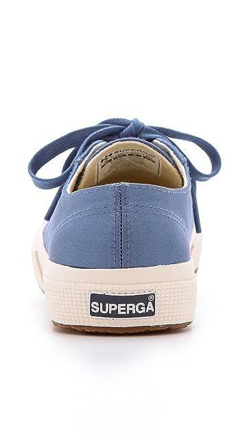 Superga The Man Repeller x Superga Satin Classic Sneakers