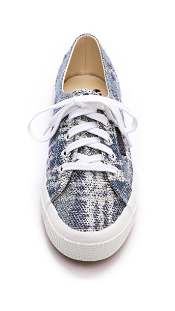 Superga The Man Repeller x Superga Tweed Classic Sneakers