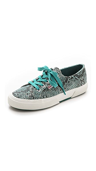 Superga 2750 Cotu Snake Sneakers