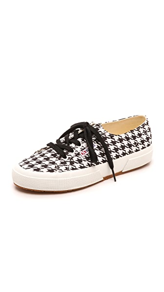 Superga 2750 Houndstooth Sneakers