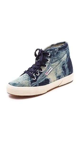 Superga Denim High Top Sneakers