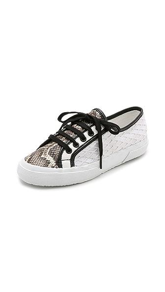 Superga Rodarte x Superga Net Snake Sneakers