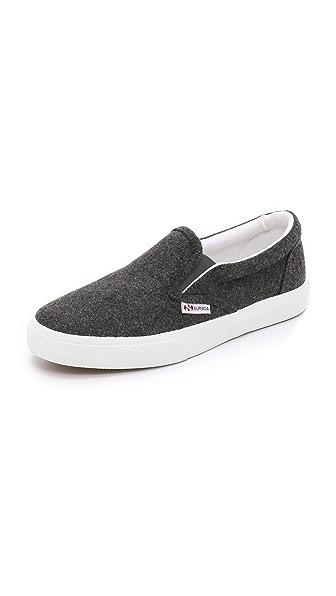 Superga 2311 Wool Slip On Sneakers