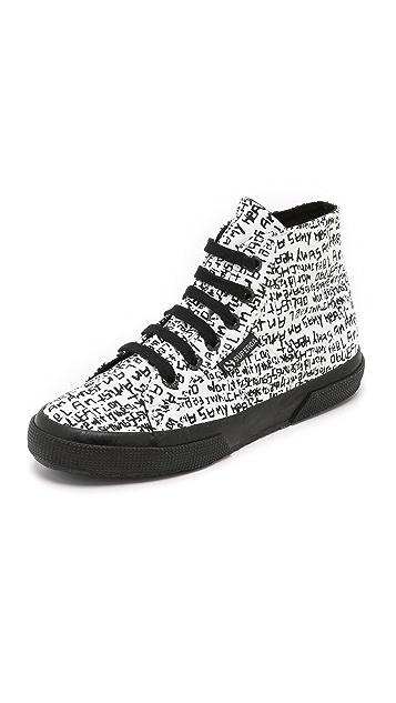 Superga Domingo Zapata x Superga High Top Sneakers