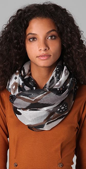 Spun Scarves by Subtle Luxury Abstract Arizona Infinity Scarf