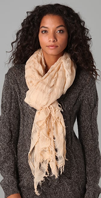 Spun Scarves by Subtle Luxury Open Wave Scarf