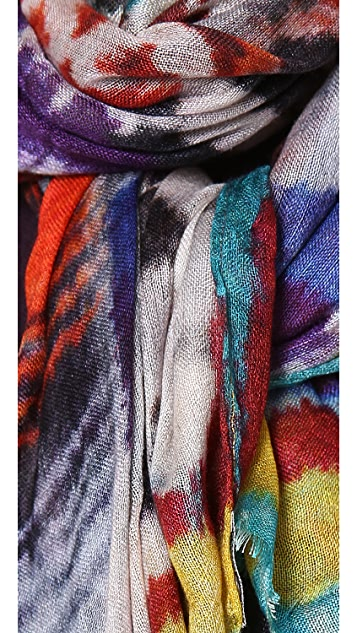 Spun Scarves by Subtle Luxury Tribal Haze Scarf