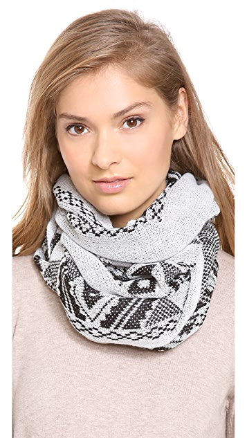 Spun Scarves by Subtle Luxury Infinity Aztec Scarf