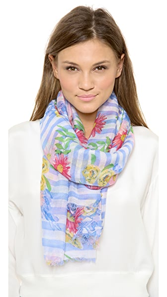 Spun Scarves by Subtle Luxury Spring Picnic Scarf