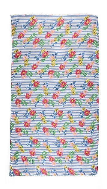 Spun Scarves by Subtle Luxury Spring Picnic Scarf