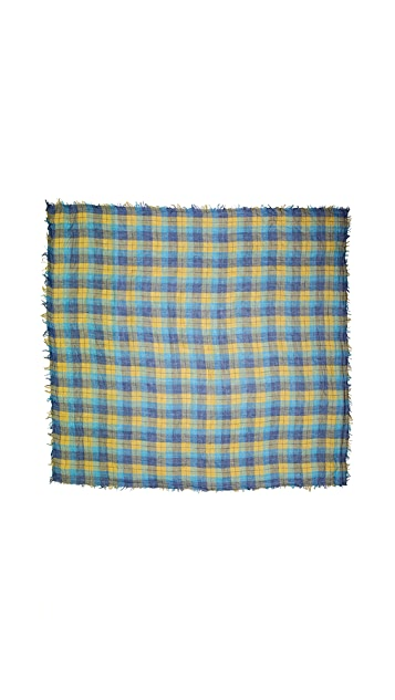 Spun Scarves by Subtle Luxury Proper Plaid Scarf