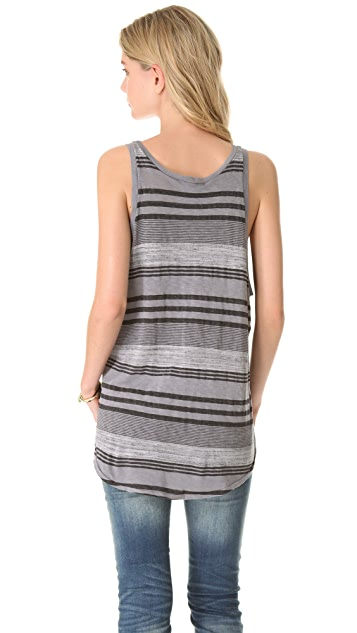 Stateside Boy Stripe Paneled Tank Top