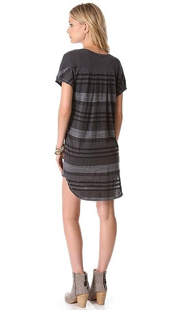 Stateside Boy Stripe Henley Dress
