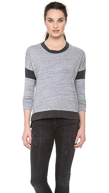 Stateside Contrast Heather Shirt