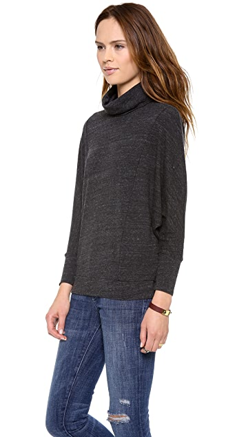 Stateside Charcoal Heather Top