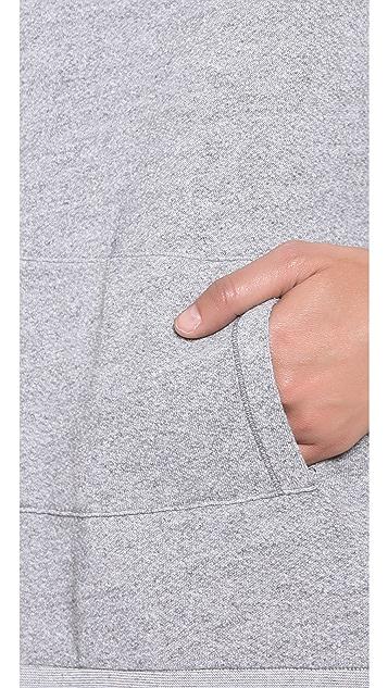 Stateside Scoop Neck Hoodie with Pocket Detail
