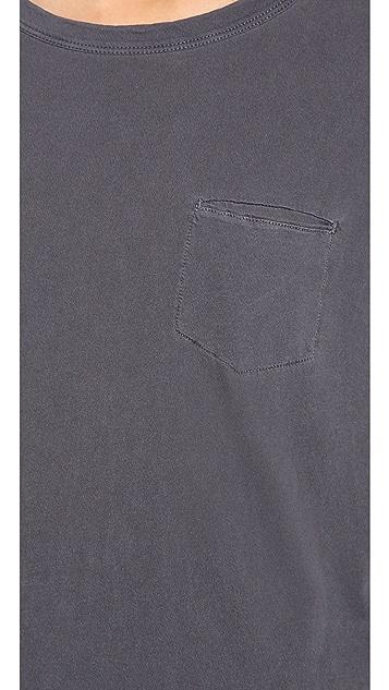 Stateside Royal Long Sleeve Pocket Tee