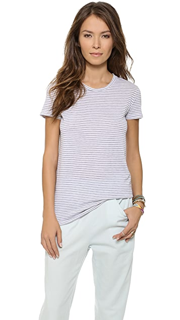 Stateside Striped Crew Tee