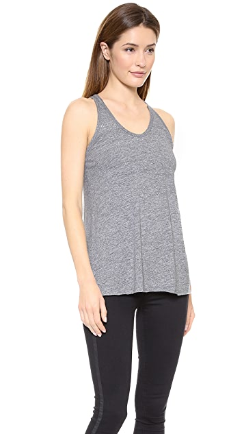 Stateside Heather Racer Tank