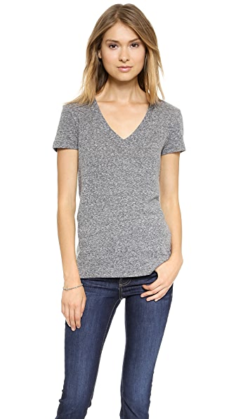 Stateside Marled V Neck
