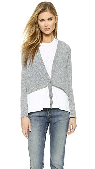 Stateside Shirttail Cardigan
