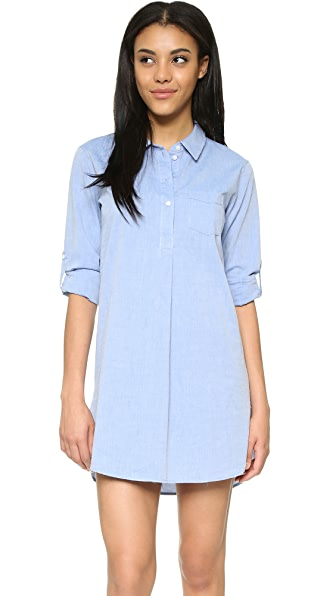 Stateside Relaxed Shirtdress