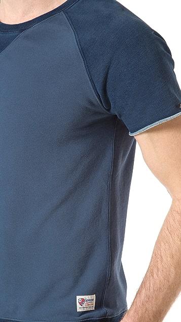Scotch & Soda Short Sleeve Sweatshirt