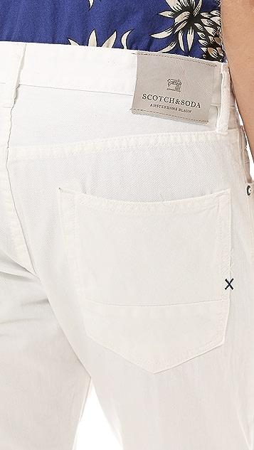 Scotch & Soda Ralston Garment Dyed Jeans