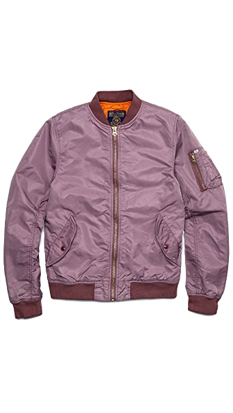 Scotch & Soda Nylon Bomber Jacket